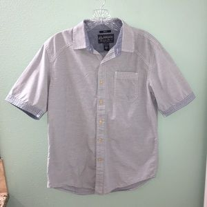 American Rag Blue Lightwash Button Down Shirt